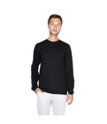 American Apparel - T-Shirt Manches Longues - Unisexe (Noir) - UTPC4068