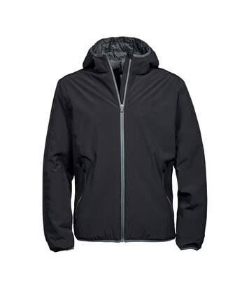Tee Jays Mens Competition Soft Shell Jacket (Black/Space Grey) - UTPC3845