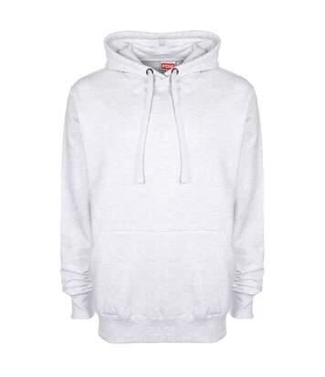 FDM Unisex Plain Original Hooded Sweatshirt / Hoodie (300 GSM) (Sport Grey) - UTBC2024