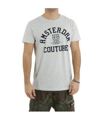 Crewneck Homme Tee-Shirt Gris Scotch & Soda