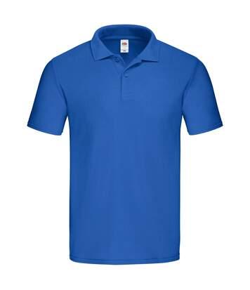 Fruit of the Loom Mens Original Polo Shirt (Royal Blue) - UTBC4815