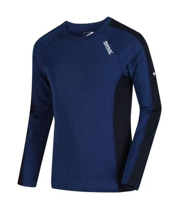 Regatta Great Outdoors Mens Beru Base Layer Shirt (Prussian Blue/Navy) - UTRG2861