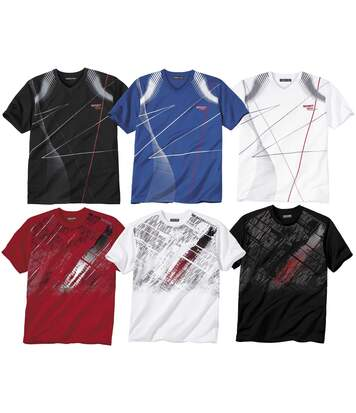 Pack of 6 Print T-Shirts