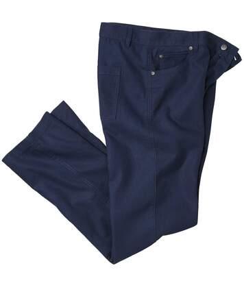Letní kalhoty z bavlny a lnu