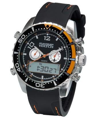 Armbanduhr mit Doppelanzeige