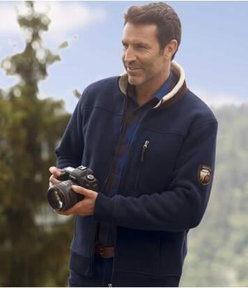 Флисовая Куртка с Подкладкой из Шерпы от Atlas For Men