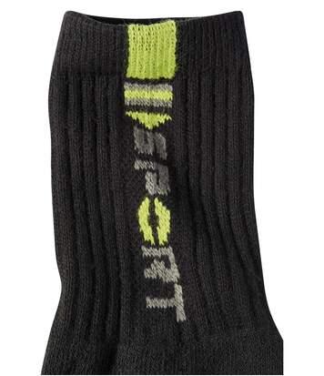 Sada 4 párů sportovních ponožek