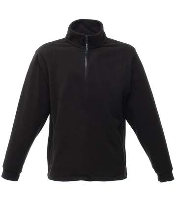 Regatta Mens Thor Overhead Anti-Pill Fleece Top (Black) - UTRW1196