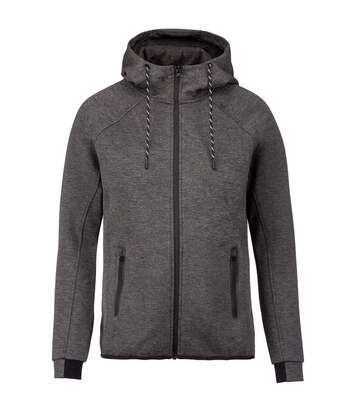 Proact Mens Performance Hooded Jacket (Deep Grey Heather) - UTPC3543