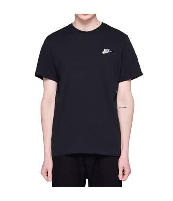 T-shirt Noir Homme Nike NSW CLUB TEE
