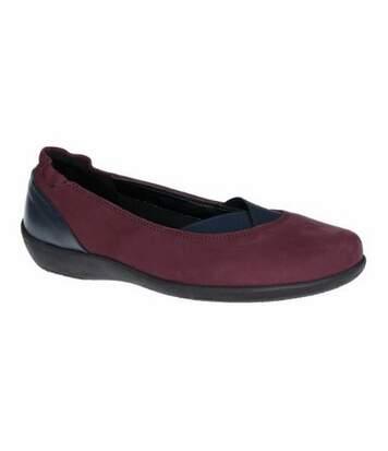 The Flexx - Chaussures - Femmes (Rouge/ Noir) - UTFS6464