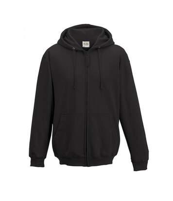 Awdis - Sweatshirt À Capuche Et Fermeture Zippée - Homme (Gris) - UTRW180