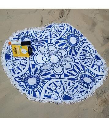 Serviette de plage ronde épaisse AIMEE