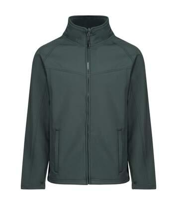 Regatta Uproar Mens Softshell Wind Resistant Fleece Jacket (Dark Spruce) - UTRG1480