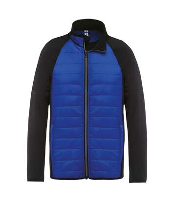 Kariban Proact Mens Dual Fabric Sports Jacket (Dark Royal/ Black) - UTRW6166