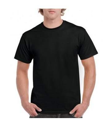 Gildan Mens Hammer Heavyweight T-Shirt (Black) - UTPC3067