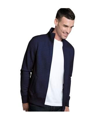 Kariban Mens Full Zip Fleece Jacket (Navy) - UTRW4220