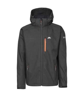 Trespass Mens Desmond TP75 Softshell Jacket (Black) - UTTP4262