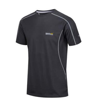 Regatta Mens Tornell Super Soft Merino Wool T-Shirt (Seal Grey) - UTRG4155