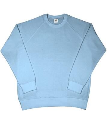 Sg - Sweatshirt À Manches Longues - Homme (Bleu ciel) - UTBC1069