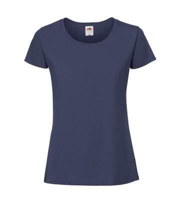 Fruit Of The Loom - T-Shirt - Femme (Bleu) - UTBC3945