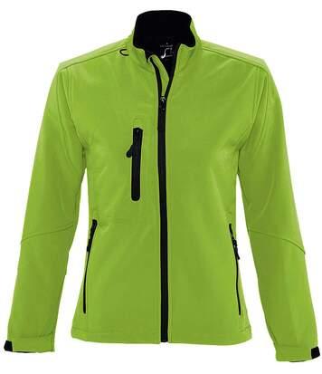 Veste softshell imperméable respirante femme 46800 - vert