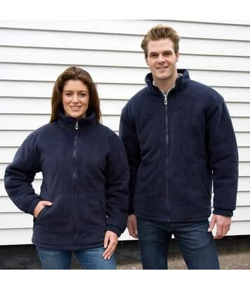 Result Core Mens Polartherm Fleece Jacket (Navy Blue) - UTBC909