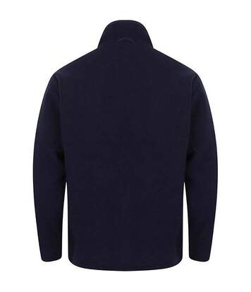 Henbury Mens Microfleece Anti-Pill Jacket (Heather Grey) - UTRW678