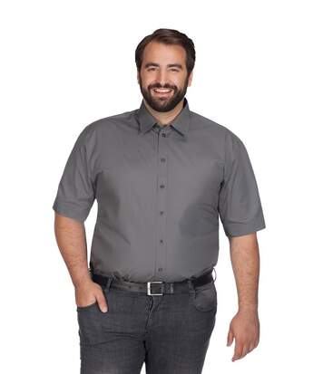 Chemise Business manches courtes grandes tailles Hommes
