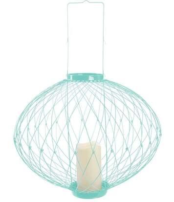 Lanterne rétractable avec photophore LED