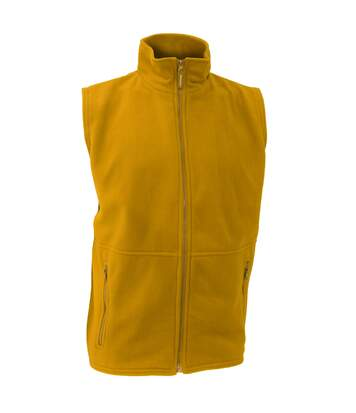Result Mens Active Anti Pilling Fleece Bodywarmer Jacket (Yellow) - UTBC923