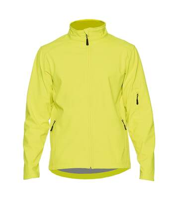 Gildan Mens Hammer Soft Shell Jacket (Safety Green) - UTPC3990