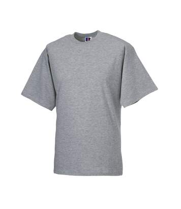 Jerzees Colours Mens Classic Short Sleeve T-Shirt (Light Oxford) - UTBC577