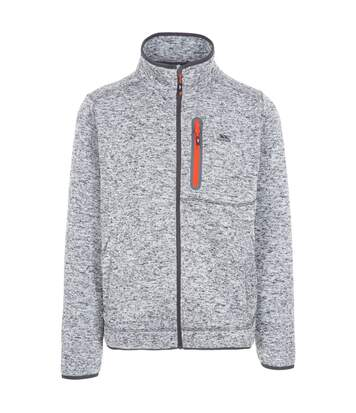 Trespass Mens Bingham Fleece Jacket (Grey Marl) - UTTP4287