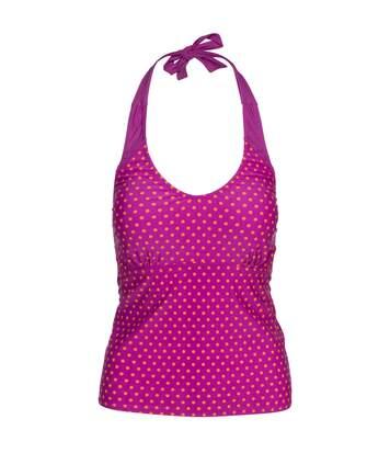 Trespass Womens/Ladies Winona Tankini (Purple Orchid Spot) - UTTP4642