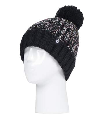 Ladies Thermal Bobble Hat with Large Pom Pom