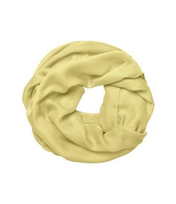 Echarpe - Tour de cou adulte - Taille unique - MB7316 - jaune