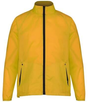 Veste coupe-vent imperméable mixte - TS011 - jaune gold