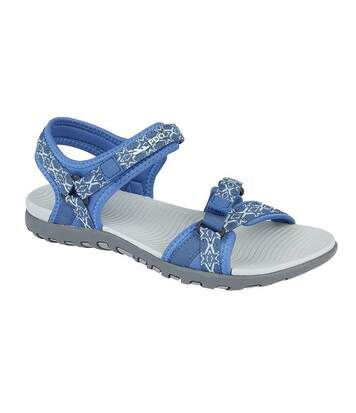 PDQ Womens/Ladies Adjustable Sandals (Blue) - UTDF1976