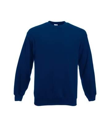 Fruit Of The Loom Mens Set-In Belcoro® Yarn Sweatshirt (Red) - UTBC365