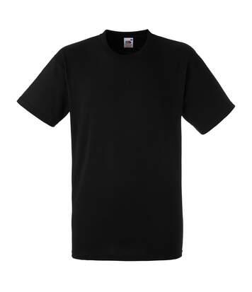 T-shirt à manches courtes Fruit Of The Loom pour homme (Noir) - UTBC350