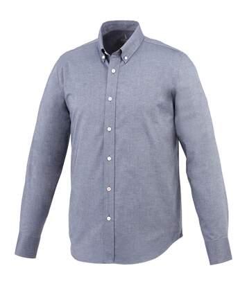 Elevate Vaillant Long Sleeve Shirt (Navy) - UTPF1835