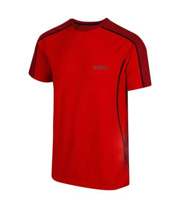 Regatta Mens Tornell Super Soft Merino Wool T-Shirt (Classic Red/Delhi Red) - UTRG4155