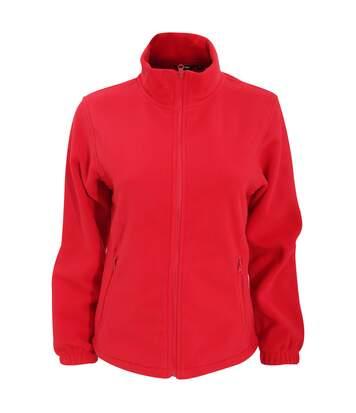 2786 - Veste En Polaire - Femme (Rouge) - UTRW2507