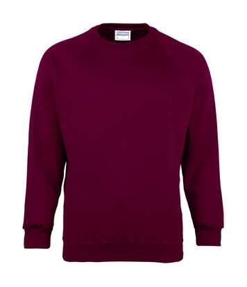 Maddins - Sweatshirt - Homme (Bordeaux) - UTRW842