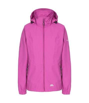 Trespass Womens/Ladies Blyton Waterproof Jacket (Purple Orchid) - UTTP4619