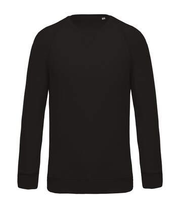 Kariban- Sweatshirt  Biologique Raglan - Homme (Noir) - UTPC2990