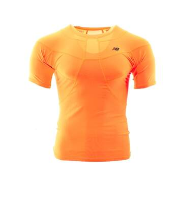 Maillot de compression orange homme New Balance