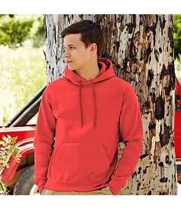 Fruit Of The Loom Mens Premium 70/30 Hooded Sweatshirt / Hoodie (Red) - UTRW3163