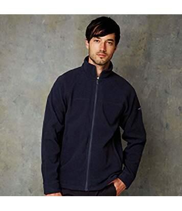 Craghoppers Mens Basecamp 200 IA Mid Weight Full Zip Fleece Jacket (Navy) - UTRW365